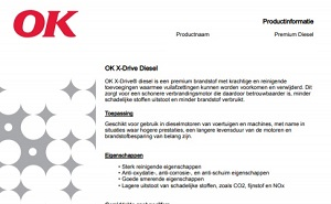X-Drive productinformatieblad